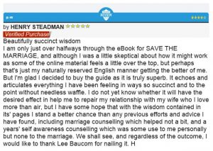dr lee baucom save the marriage system review