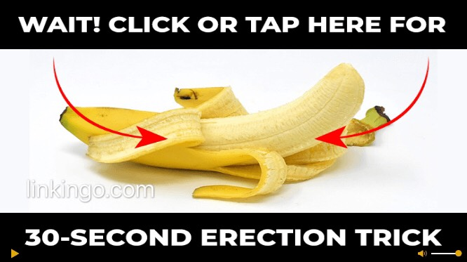 30 second hard erection trick