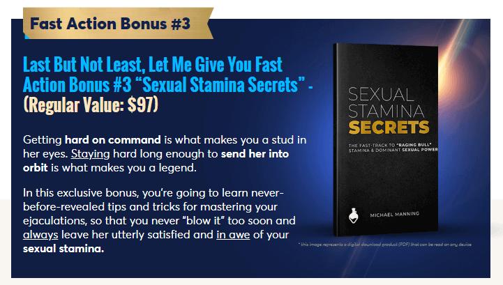 sexual stamina secrets