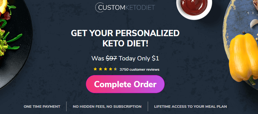 custom keto diet plan 7 day trial