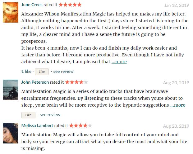 Manifestation Magic good reads review