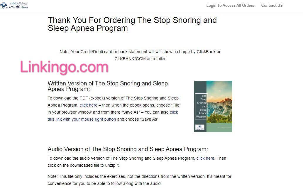 stop snoring download