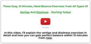 exercises for vertigo treatment
