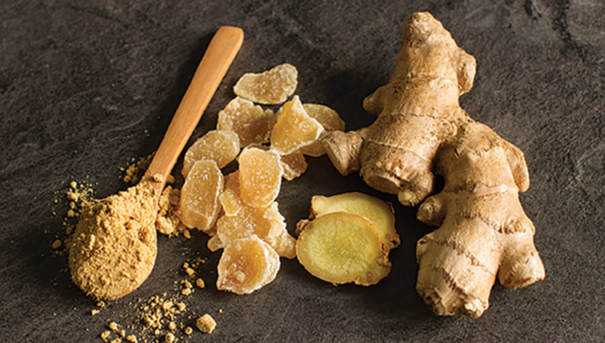 Relieve TMJ pain - ginger