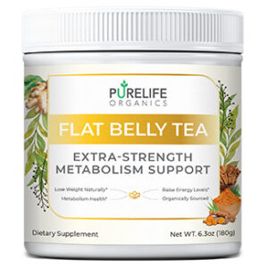 pure life organics flat belly tea