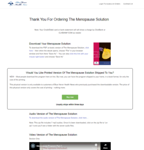 the menopause solution download