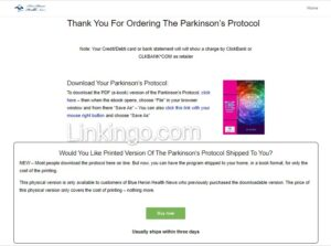 the parkinson's protocol review