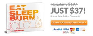 eat sleep burn discount