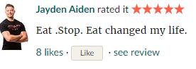 eat stop eat comment