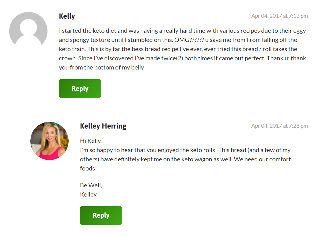 keto breads review feedback