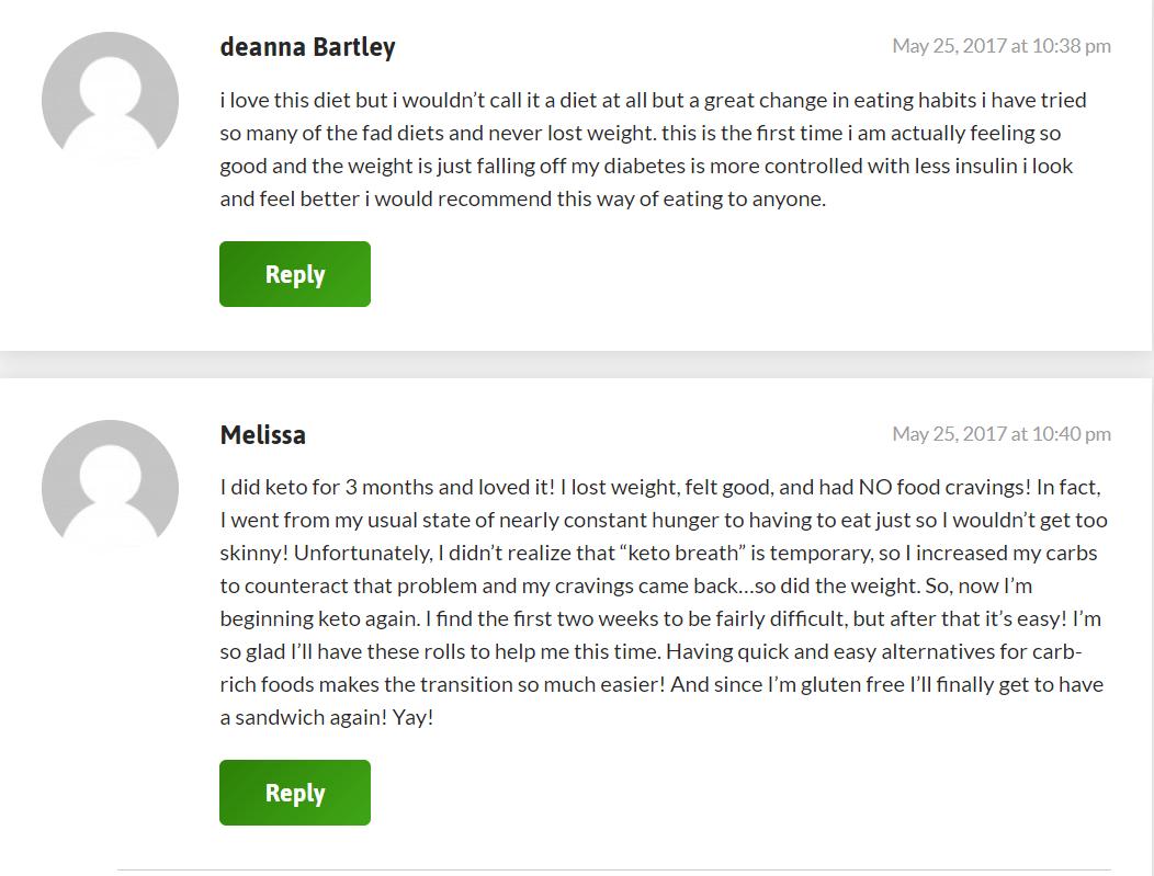 keto breads review feedback 2