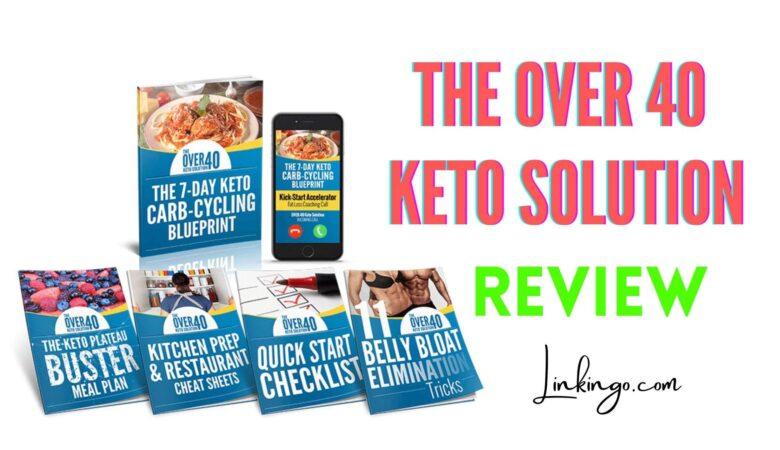over 40 keto solution review