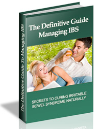 the definitive guide managing IBS
