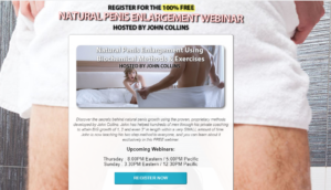 free webinar penis enlargement