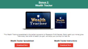step by step to track wealth