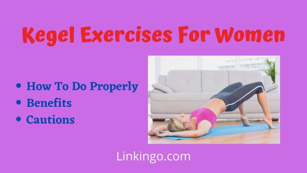 kegel exercises for women